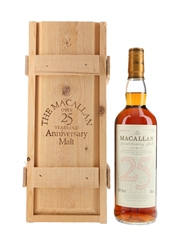 Macallan 25 Year Old Anniversary Malt