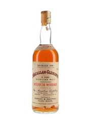 Macallan Glenlivet 1950 25 Year Old