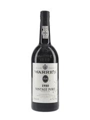 Warre's 1980 Vintage Port