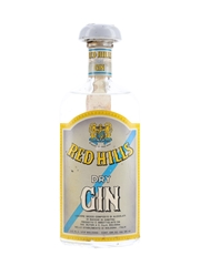 Red Hills Dry London Gin Bottled 1960s 75cl / 45%