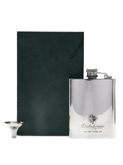Dalwhinnie 100 Years Anniversary Hip Flask With Funnel English Pewter 12cm x 8.5cm