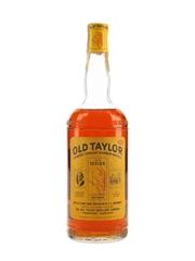 Old Taylor Bottled In Bond