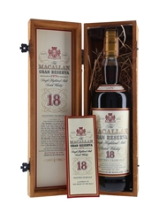Macallan 1979 18 Year Old Gran Reserva Bottled 1997 70cl / 40%