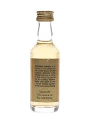 Bruichladdich 10 Year Old Bottled 1980s - John Gross 5cl / 40%
