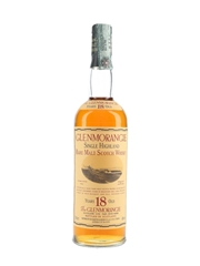 Glenmorangie 18 Year Old Bottled 1990s - Martini & Rossi 70cl / 43%