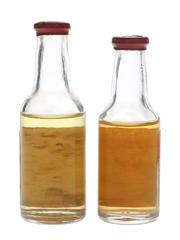Bols Dry Orange Curacao & Parfait Amour  2 x 2.6-3cl