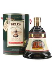 Bell's Christmas 1991 Ceramic Decanter