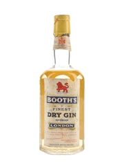 Booth's Finest Dry Gin Bottled 1955 50cl / 40%