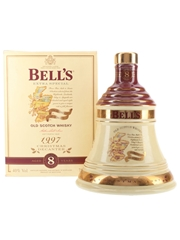Bell's Christmas 1997 Ceramic Decanter 8 Year Old - Ingredients Of Quality 70cl / 40%