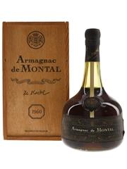 De Montal Armagnac 1960