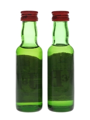 J & B Rare Bottled 1970s-1980s 2 x 3.7cl / 43%