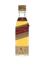 Johnnie Walker Red Label Bottled 1960s-1970s - Wax & Vitale 4cl / 43%