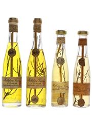 Millefiori Cucchi Liqueur Bottled 1960s 4 x 2.5cl-4cl / 45%