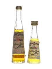 Galliano Liqueur Bottled 1960s-1970s 2 x 2.8cl-4.5cl