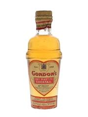 Gordon's Dry Martini Cocktail Spring Cap