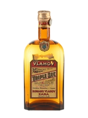 Romano Vlahov Curacao Triple Sec Bottled 1950s 100cl / 39%