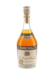 Churchill's Premier Brandy Bottled 1960s - Numbered Bottle 75cl / 40%