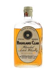 Highland Clan Special Reserve Bottled 1950s-1960s - The Highland Bonding 75cl