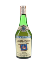 Ramazzotti Chateau La Victoire Brandy Bottled 1970s 75cl / 42%