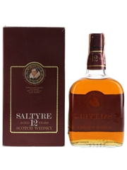 Saltyre Scotch 12 Year Old Bottled 1980s - Buton 75cl / 40%
