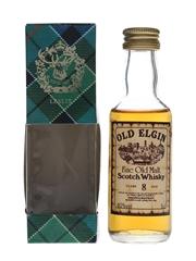 Old Elgin 8 Year Old Bottled 1990s - Gordon & MacPhail 5cl / 40%