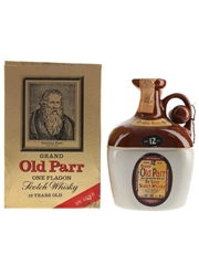 Grand Old Parr 12 Year Old De Luxe Bottled 1980s Ceramic Decanter 75cl / 40%