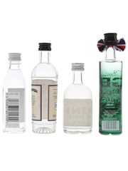 Assorted Gin Bath Gin, Christopher Wren, Audemus Pink Pepper & Chase GB 4 x 5cl