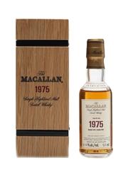 Macallan 1975 Fine & Rare