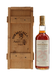 Macallan 1958-1959 25 Year Old Anniversary Malt