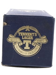 Tennent's Centenary Lager 1885-1985  75cl