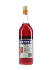 Campari Bitter Bottled 1980s-1990s - NAAFI Stores 100cl