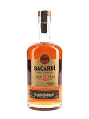 Bacardi 8 Year Old Gran Reserva  70cl / 40%
