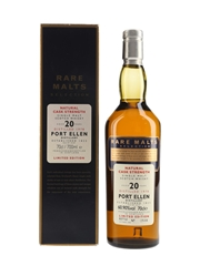Port Ellen 1978 20 Year Old