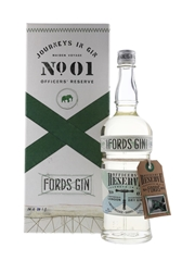 Fords Officers' Reserve Overproof Gin