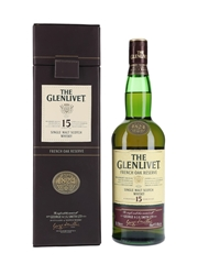 Glenlivet 15 Year Old French Oak Reserve Bottled 2007 70cl / 40%