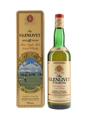 Glenlivet 12 Year Old Bottled 1980s - Classic Golf Courses Royal Troon 75cl / 40%
