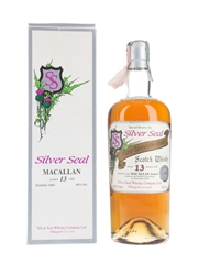 Macallan 1990 13 Year Old Bottled 2003 - Silver Seal 70cl / 46%