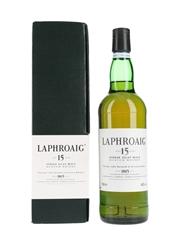 Laphroaig 15 Year Old Bottled 1990s 70cl / 43%