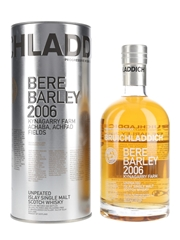 Bruichladdich 2006 6 Year Old Bere Barley Second Edition Bottled 2014 - Travel Retail 70cl / 50%