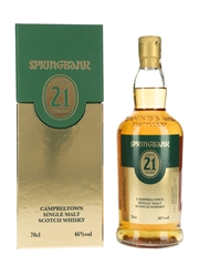 Springbank 21 Year Old 1st Cask Rum Matured