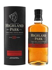 Highland Park 18 Year Old Bottled Pre 2012 70cl / 43%