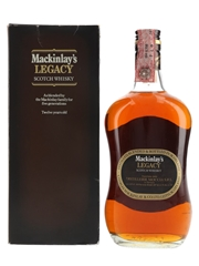 Mackinlay's Legacy 12 Year Old Bottled 1980s - Distillerie Moccia 75cl / 40%