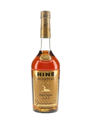 Hine Signature 3 Star Bottled 1980s 68cl / 40%