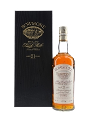 Bowmore 21 Year Old Bottled 1990s 70cl / 43%