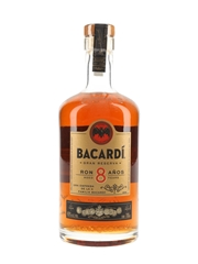 Bacardi 8 Year Old Gran Reserva  70cl / 40%