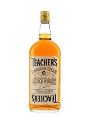 Teacher's Highland Cream Bottled 1980s 113cl / 40%
