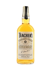 Teacher's Highland Cream Bottled 1980s 75cl / 40%