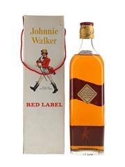 Johnnie Walker Red Label Bottled 1960s-1970s 75cl / 40%