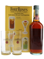Four Roses 6 Year Old Glass Pack Bottled 1990s - Seagram 70cl / 40%