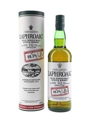 Laphroaig 10 Year Old Cask Strength Bottled 2010 - Batch 002 70cl / 58.3%